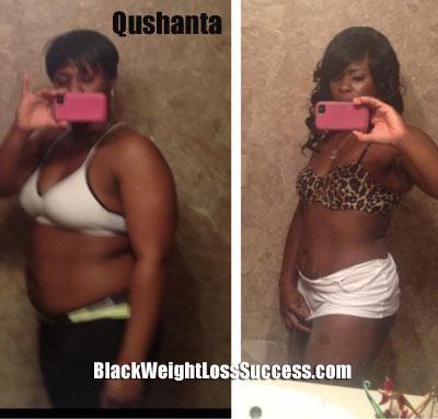 Qushanta weight loss story
