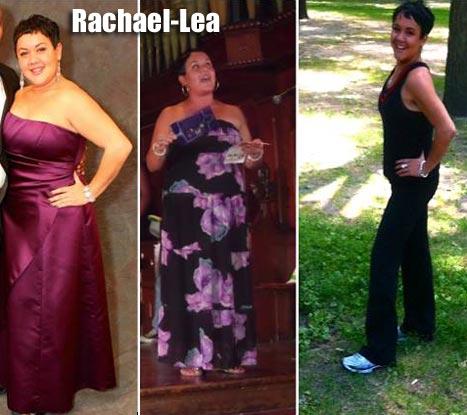 RachaelLea weight loss
