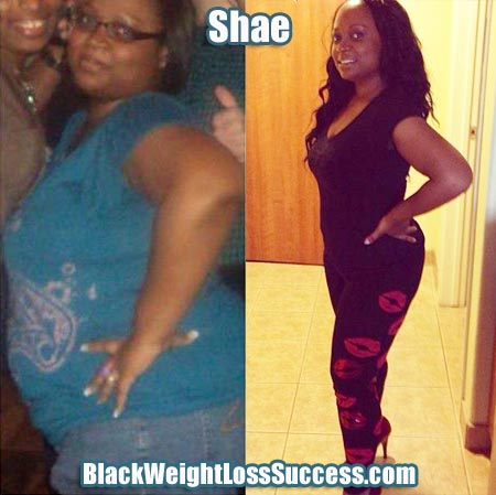 Shae weight loss photos