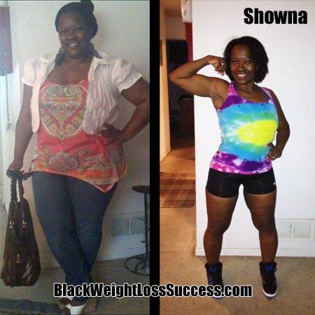 Showna weight loss photos