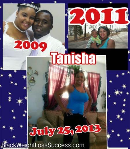 Tanisha weight loss photos