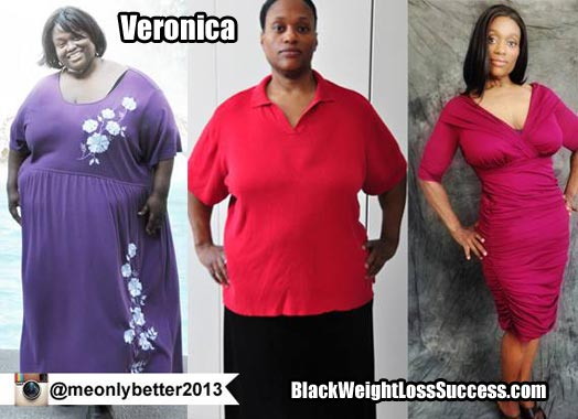 Veronica lost 274 pounds