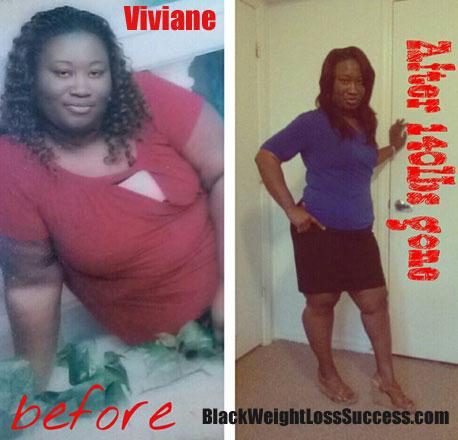 Viviane weight loss journey