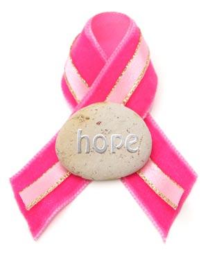hope ribbon breast cancer
