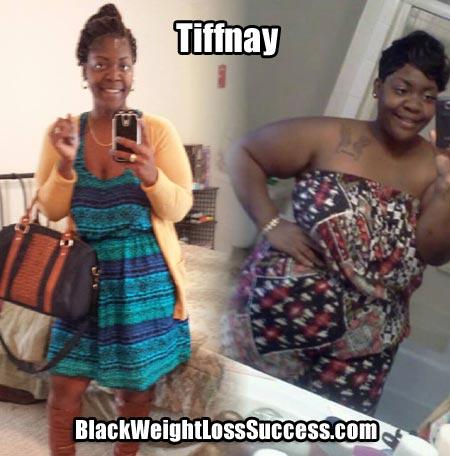 Tiffany weight loss photos