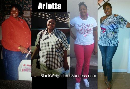 Arletta weight loss story