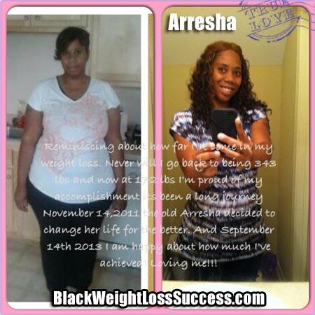 Arresha weight loss surgery