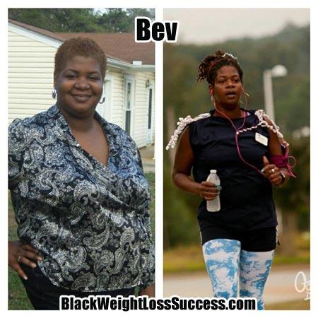 Bev weight loss story