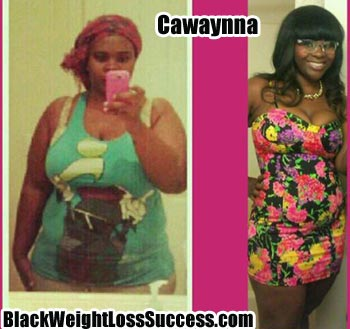 Cawaynna weight loss story