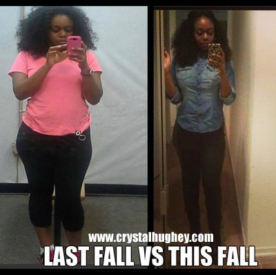 Crystal weight loss story