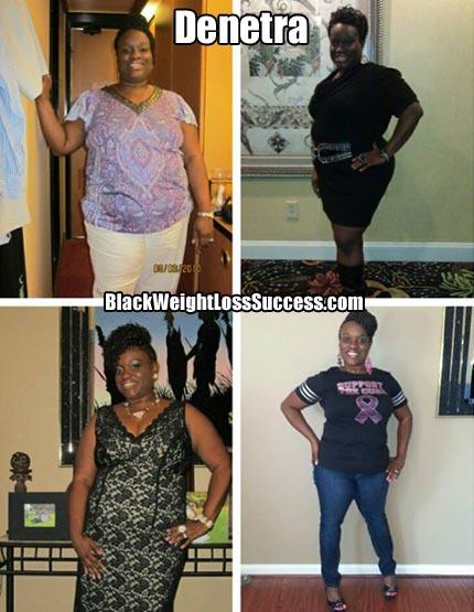 Denetra weight loss photos