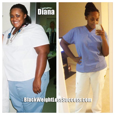 Diana weight loss photos