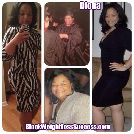 Diona before and after