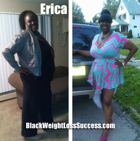 Erica weight loss success story