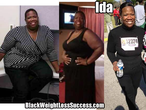 Ida weight loss photos