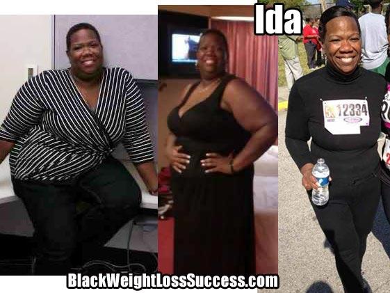 Ida weight loss photos