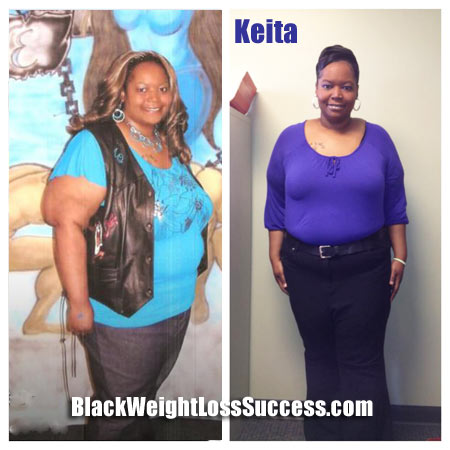Keita weight loss story