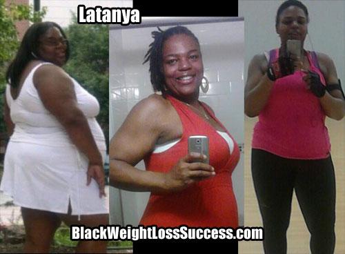 Latanya weight loss photos