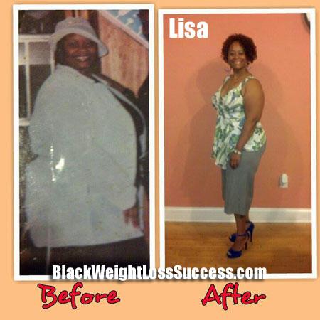 Lisa weight loss photos