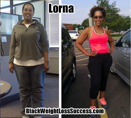 Lorna weight loss success story