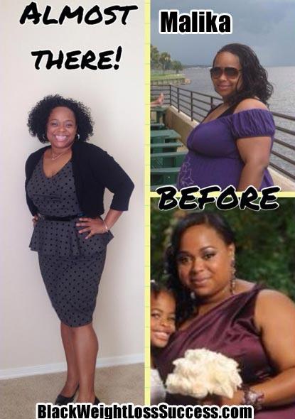 Malika weight loss photos