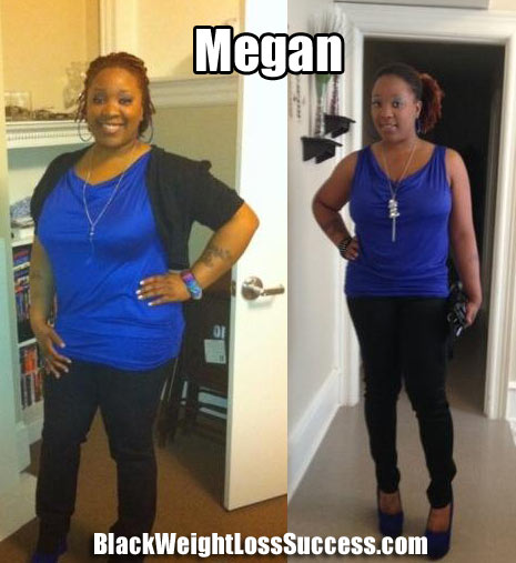 Megan weight loss story