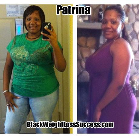 Patrina weight loss photos
