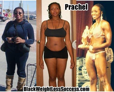 Prachel weight loss photos