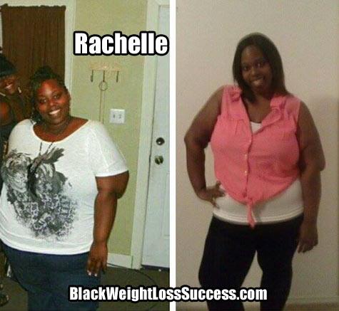 Rachelle weight loss story