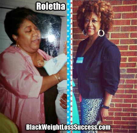 Roletha weight loss success story