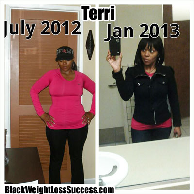 Terri weight loss journey