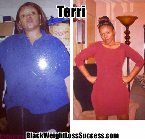 Terri weight loss photos
