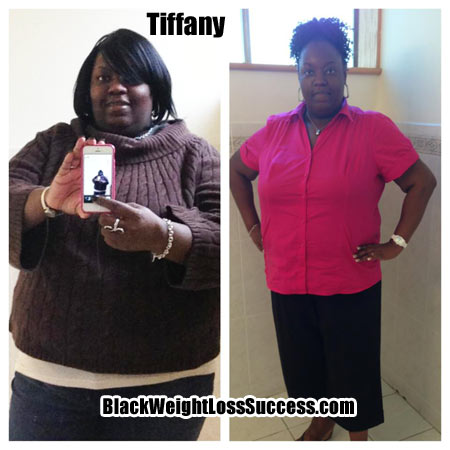 Tiffany weight loss success story