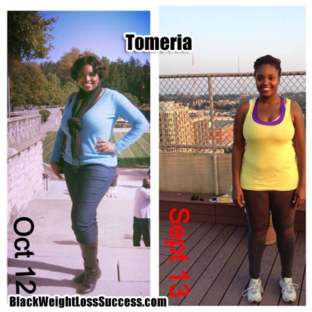 Tomeria weight loss success story