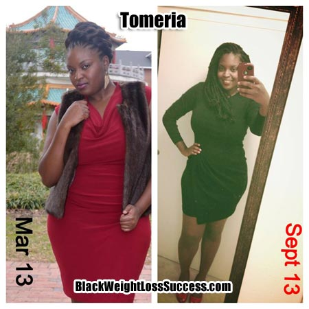 Tomeria weight loss story