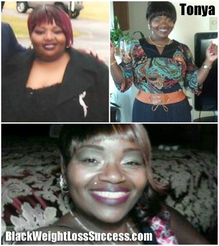 Tonya weight loss photos