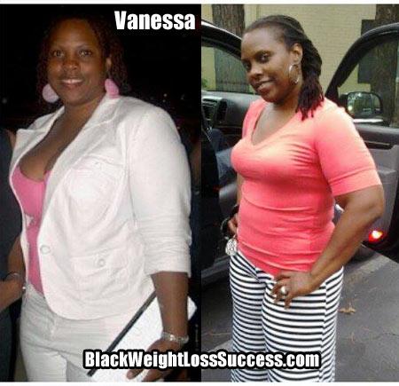 Vanessa weight loss story