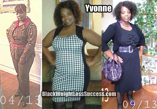 Yvonne weight loss success story