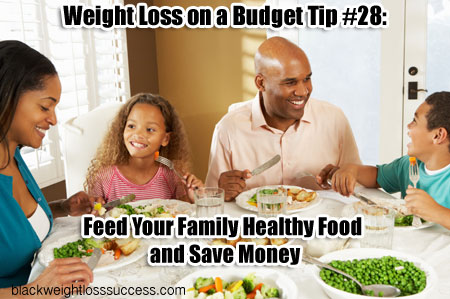 family healthy food save money