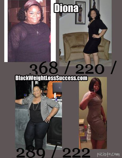 Diona weight loss success story