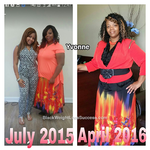yvonne weight loss story