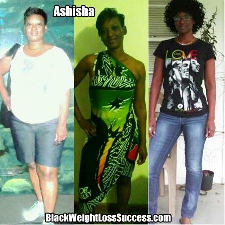 Ashisha weight loss success story