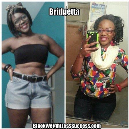 Bridgetta weight loss story