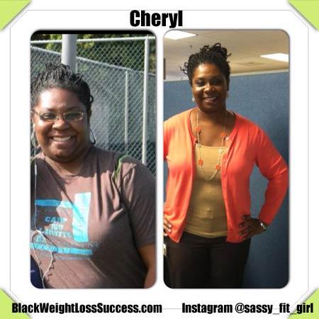Cheryl weight loss story