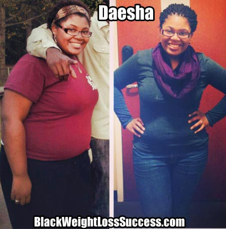 Daesha weight loss story