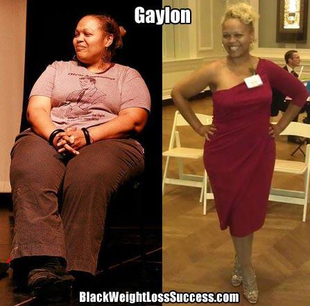 Gaylon weight loss journey