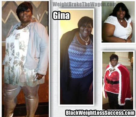 Gina weight broke the wagon