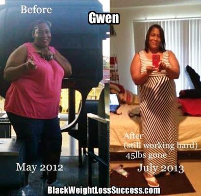 Gwen weight loss story