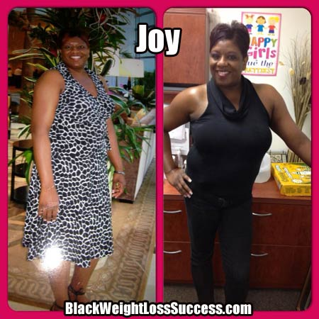 Joy weight loss photos