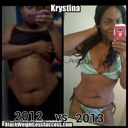 Krystina weight loss story